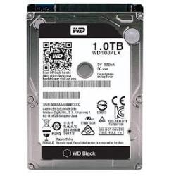 """HARD DISK-1.0TB SATA 2.5"""" INT.WD BLACK"""