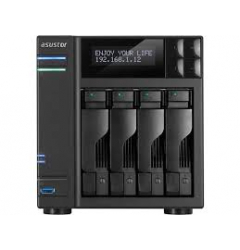 NAS-ASUSTOR,4 BAY,DS,CEL.J3455,Q/C, 8GB