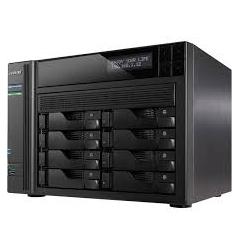 NAS-ASUSTOR,8 BAY,DS,CEL.1.6GHZ,Q/C,2GB