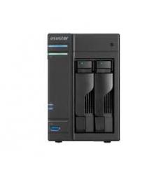 NAS-ASUSTOR 2 BAY DS CEL.2.0 Q/C 4GB