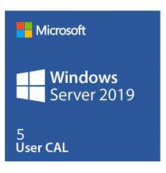 S.O.-WIN.SERVER CAL.2019 5xUSER