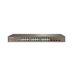 NTW-SWITCH L3 24 P.GB+4 SFP POE IP-COM